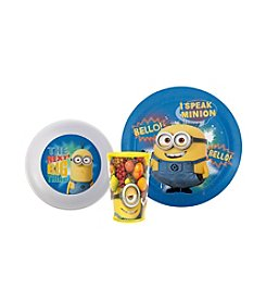 Zak Designs® Despicable Me Minion 3-pc. Dinnerware Set