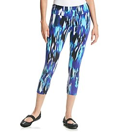 Calvin Klein Performance Digital Print Tie Dye Crop Leggings