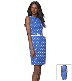 Chaps® Polka Dot Dress