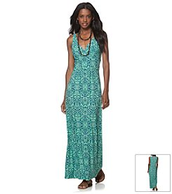 Chaps® Printed Maxi Dress