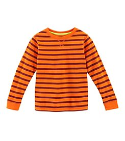 Ruff Hewn Mix & Match Boys' 2T-7 Long Sleeve Stripe Crew Neck Tee