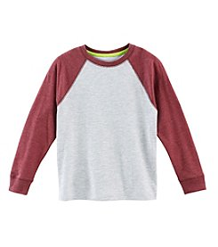Ruff Hewn Mix & Match Boy's 2T-7 Long Sleeve Raglan Crew Neck Tee