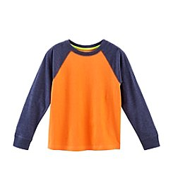 Ruff Hewn Mix & Match Boys' 2T-7 Long Sleeve Raglan Crew Neck Tee