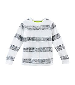 Ruff Hewn Mix & Match Boys' Long Sleeve Striped Reverse  Tee
