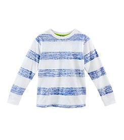 Ruff Hewn Mix & Match Boys' 2T-7 Long Sleeve Striped Reverse  Tee