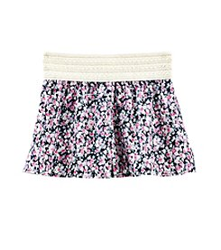 Squeeze® Girls' 7-14 Floral Printed Soft Shorts
