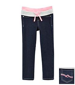 Squeeze® Girls' 2T-14 Knit Waist Jeans