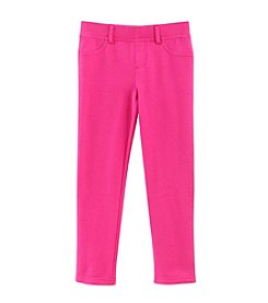 Little Miss Attitude Mix & Match Girls' 2T-6X Solid Jeggings