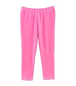 Little Miss Attitude Mix & Match Girls' 2T-6X Studded Hem Leggings