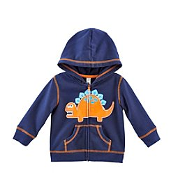 Cuddle Bear® Mix & Match Baby Boys' 3M-2T Full Zip Fleece Hoodie