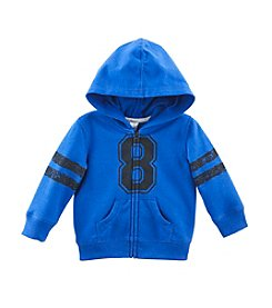 Cuddle Bear® Mix & Match Baby Boys' Full Zip Fleece Hoodie
