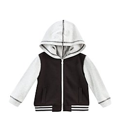 Cuddle Bear® Mix & Match Baby Boys' Full Zip Fleece Baseball Hoodie
