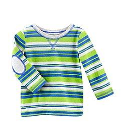 Cuddle Bear® Mix & Match Baby Boys' Long Sleeve Striped Tee