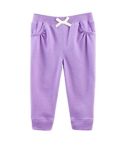 Cuddle Bear® Mix & Match Baby Girls' 3-24M Fleece Jogger Pants