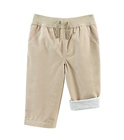 Cuddle Bear® Mix & Match Baby Boys' Woven Solid Play Pants