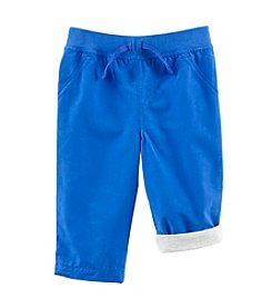 Cuddle Bear® Mix & Match Baby Boys Woven Solid Play Pants