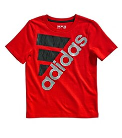 adidas Boys' 2T-7X Short Sleeve Shock Tee