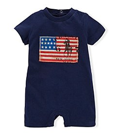 Ralph Lauren Childrenswear Baby Boys' Americana Shortall