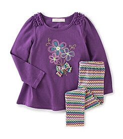 Kids Headquarters® Girls' 2T-6X Tunic With Leggings Set