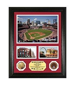 Busch Stadium Infield Dirt Coin Showcase Photo Mint by Highland Mint