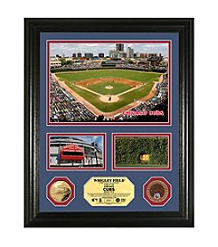 Wrigley Field Infield Dirt Coin Showcase Photo Mint by Highland Mint
