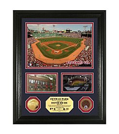 Fenway Park Infield Dirt Coin Showcase Photo Mint by Highland Mint