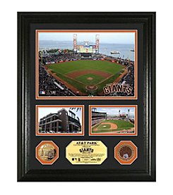 AT&T Park Infield Dirt Coin Showcase Photo Mint by Highland Mint