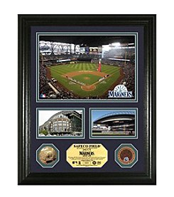 Safeco Field Infield Dirt Coin Showcase Photo Mint by Highland Mint