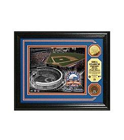 Shea Stadium Final Season Dirt Coin Photo Mint by Highland Mint