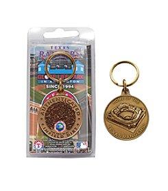 MLB® Texas Rangers Globe Life Park Dirt Coin Keychain