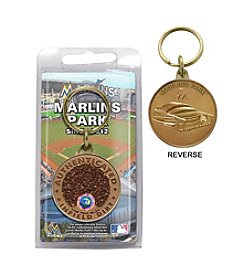 MLB® Miami Marlins Park Dirt Coin Keychain