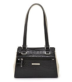 Stone Mountain® Providence Two Tone Satchel