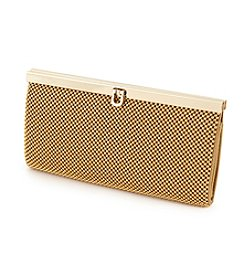 La Regale® Mesh Frame Compartment Clutch
