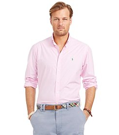 Polo Ralph Lauren® Men's Big & Tall Long Sleeve Gingham Button Down