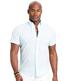 Polo Ralph Lauren® Men's Big & Tall Short Sleeve Seersucker Button Down