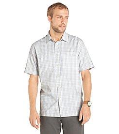 Van Heusen® Men's Short Sleeve Plaid Traveler Woven