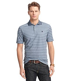 Izod® Men's Short Sleeve Stripe Performance Polo
