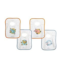 Dreambaby® 4-Pack Farm Pullover Bibs