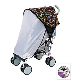 Dreambaby® Strollerbuddy Animal Print Extenda-Shade with Insect Netting