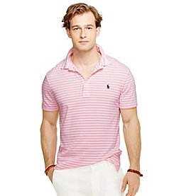 Polo Ralph Lauren® Men's Short Sleeve Stripe Mesh Polo Shirt