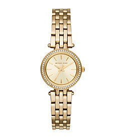 Michael Kors® Petite Goldtone Darci Watch