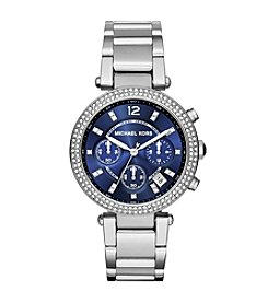 Michael Kors® Women's Silvertone Parker Watch