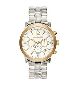 Michael Kors® Women's Goldtone & Lucite Audrina Watch