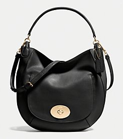 COACH CIRCLE HOBO IN SMOOTH CALF LEATHER