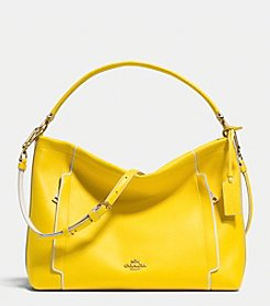 COACH SCOUT HOBO IN COLORBLOCK LEATHER