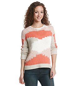 Vince Camuto® Colorblocked Intarsia Sweater