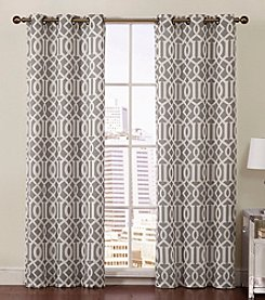 Victoria Classics Aaron Room Darkening Grommet Window Curtain