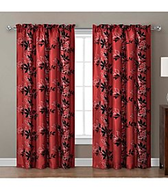 Victoria Classics Barclay Flocked Window Curtain