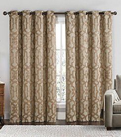 Victoria Classics Becket Blackout Grommet Window Curtain