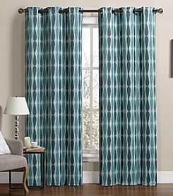 Victoria Classics Monsoon Blackout Grommet Window Curtain